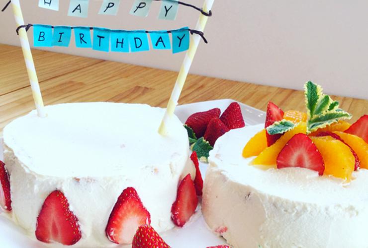 お誕生日ケーキをご注文